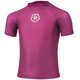 Color Kids Timon UPF SS Shirt Girls Magenta Purple
